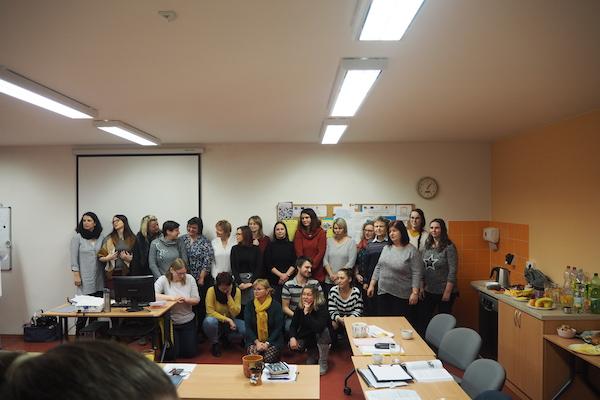 Obr. 2: Pracovní tým Pedagogicko – psychologické poradny Ústí nad Orlicí.