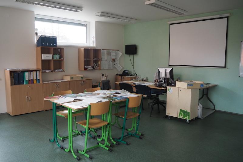 Interiér Pedagogicko-psychologické poradny Ústí nad Orlicí