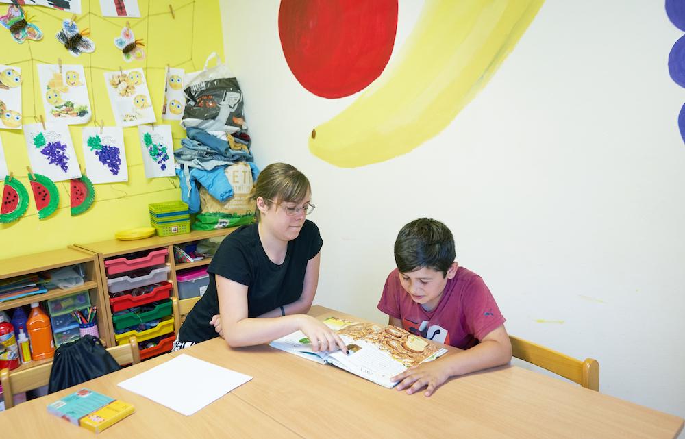 Doučování v klubu. Předškolní klub Stonožka v Ústí nad Labem. Zdroj Archiv Člověka v tísni.